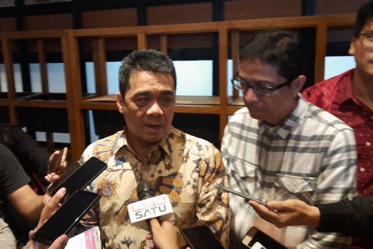 Cawagub DKI Jakarta dari Partai Gerindra Ahmad Riza Patria, di kawasan Kebayoran Baru, Jakarta Selatan, Jumat (6/3/2020)