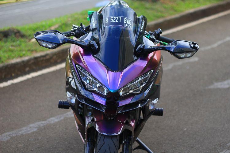 Modifikasi Bunglon Kawasaki Ninja 250 Doc Dj Custom