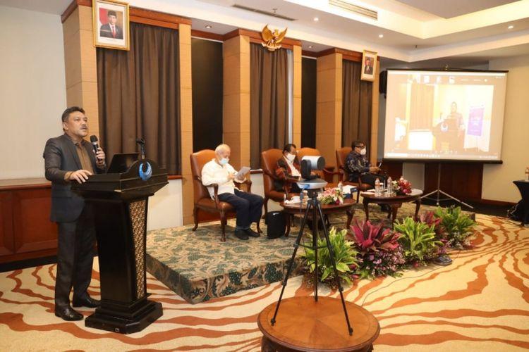 Rapat Paripurna (Rapur) Lembaga Produktivitas Nasional (LPN) Tahun 2020 di Jakarta, Selasa (15/12/2020)
