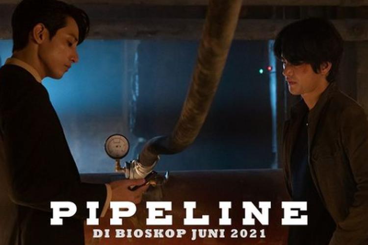 Seo In-guk adu peran kembali dengan Lee Soo-hyuk di film Pipeline (2021).