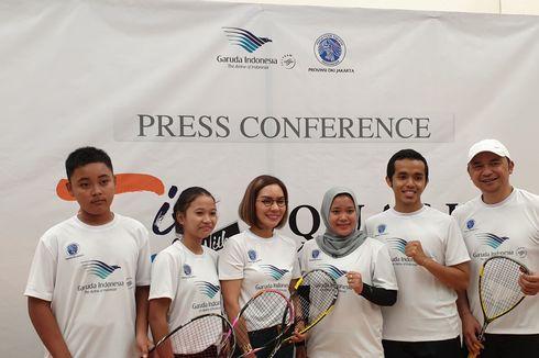 Dukungan Penuh Garuda Indonesia untuk Pengembangan Squash DKI Jakarta