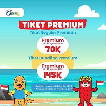Harga tiket premium di Ocean Dream Samudra pada momen 17 Agustus 2020
