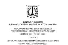 Ini Pelaksanaan Prapendaftaran PPDB 2020 SD-SMK Negeri di DKI Jakarta