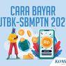 INFOGRAFIK: Cara Bayar UTBK-SBMPTN 2021 melalui BRI, Mandiri, BTN, dan BNI