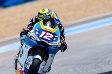 Kedua Pebalap Pertamina Mandalika SAG Team Kesulitan di Moto2 Spanyol