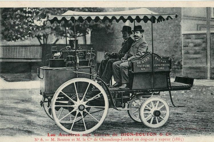 Mobil di akhir abad ke-18