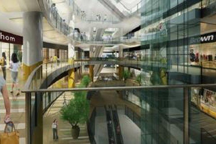 Ilustrasi: pusat belanja.
