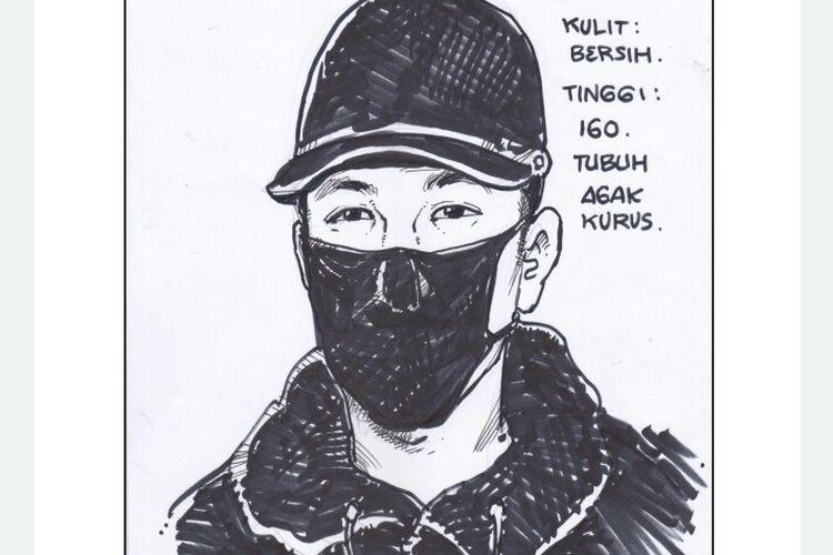 Polisi telah merilis sketsa dua wajah yang diduga pelaku penembak pengusaha di bidang pelayaran berinisial S (51) di Royal Gading Square, Pegangsaan Dua,Kelapa Gading, Jakarta Utara, Kamis (13/8/2020) siang.
