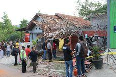 Ledakan di Kebumen, Dua Rumah Hancur dan Puluhan Lainnya Rusak