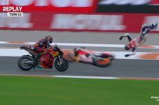 VIDEO Q1 MotoGP Valencia - Alex Marquez Terpelanting dari Motornya
