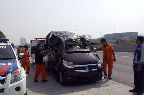 3 Tewas Akibat Suzuki APV Terguling di Tol Jagorawi, Ini Penyebabnya