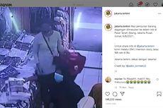 Terekam CCTV Pasar Tanah Abang, Perempuan Masukkan Baju Curian ke Daster