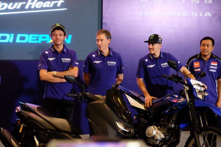 Valentino Rossi dan Maverick Vinales datang ke Indonesia