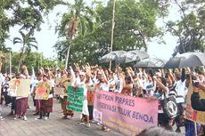 Warga Kembali Demo, Sebut Teluk Benoa Belum Aman dari Ancaman Reklamasi