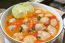 Resep Bakso Taichan, Kuah Pedas Mantap