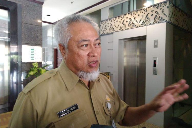 Direktur RSUD Kanujoso, dr Edy Iskandar.