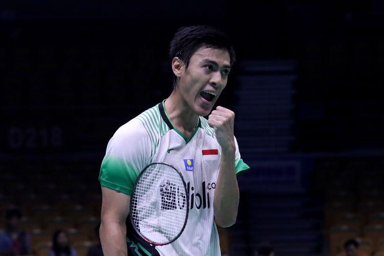 Pebulu tangkis tunggal putra Indonesia, Shesar Hiren Rhustavito.