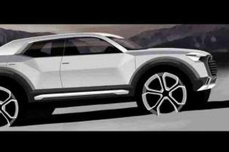 Gambar penggoda Audi Q1.