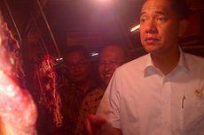 Menteri Perdagangan Cek Harga Daging Sapi di Bandung
