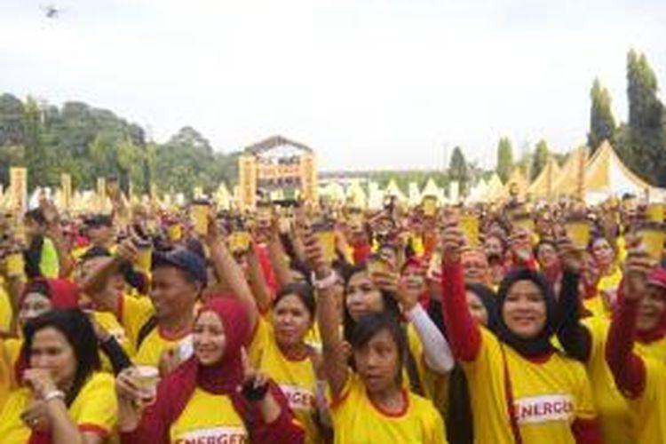 Ribuan warga mengikuti kampanye