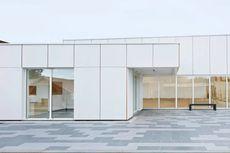 Pusat Olahraga Ini Dibangun dari Biomaterial Berbahan Rami