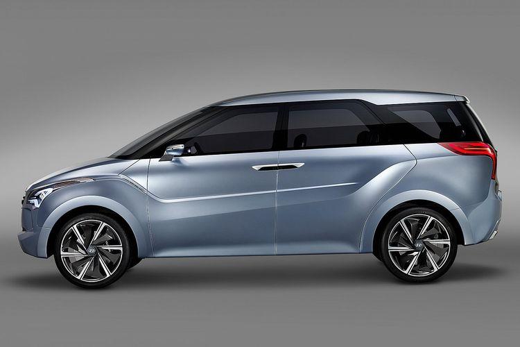 Ilustrasi Hyundai Hexa Space MPV Concept, yang digadang-gadang menjadi model konsep dari Hyundai Staria