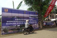 Gubernur Ganjar Resmikan Proyek Normalisasi KBT di Semarang