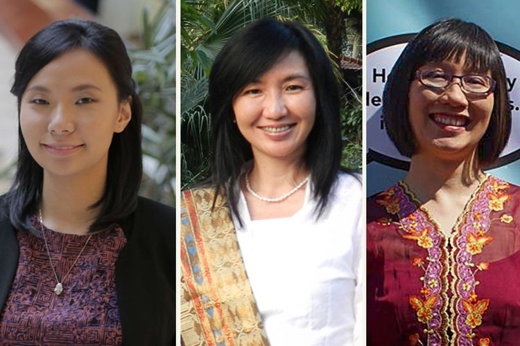 Liviana Zheng, Juliana Wijaya, dan Desiana Pauli Sandjaja.