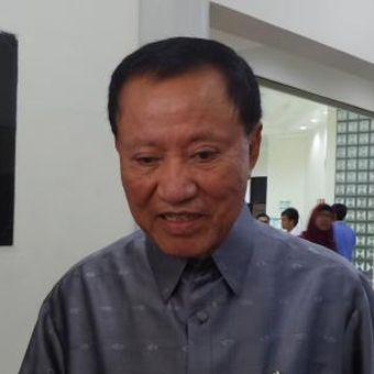 Politisi Partai Demokrat Amir Syamsuddin saat ditemui di Balai Sidang UI Depok, Sabtu (12/11/2016).