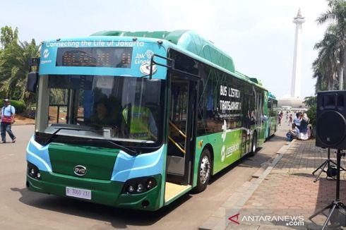 Senin, Transjakarta Uji Coba Bus Listrik Balai Kota-Blok M