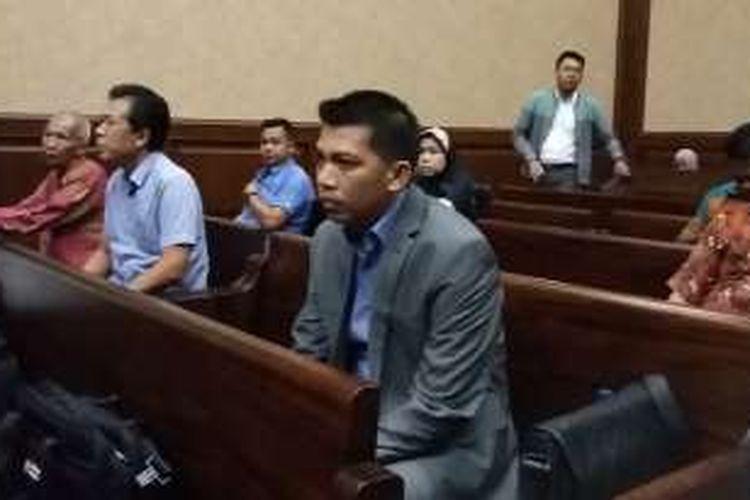Direktur Utama PT Windhu Tunggal Utama Abdul Khoir di Pengadilan Tindak Pidana Korupsi, Jakarta, Kamis (12/5/2016).