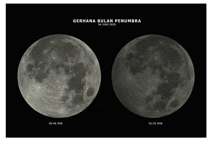 Eclipse lunar de Penumbra, 6 de junio de 2020.