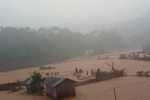 Longsor dan Banjir Terjang Lebak, Akses ke Negeri di Atas Awan Tak Bisa Dilalui