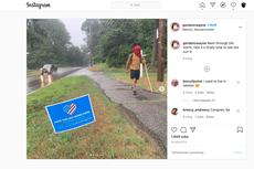 Kisah Pemuda Berjalan Kaki 804 Kilometer Setelah Diterima Beasiswa di Kampus Impian