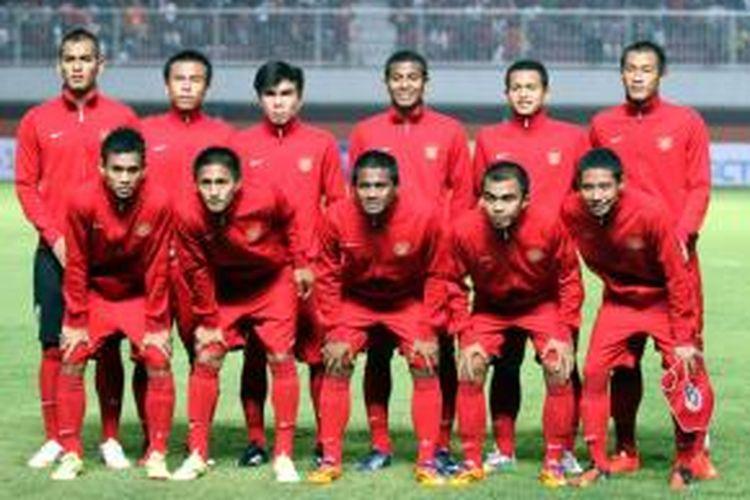 Skuad tim nasional Indonesia U-19.