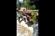 Viral Video Mbah Warjin Ditandu untuk Berobat, Akses Menuju Desa Tak Bisa Dilewati Mobil