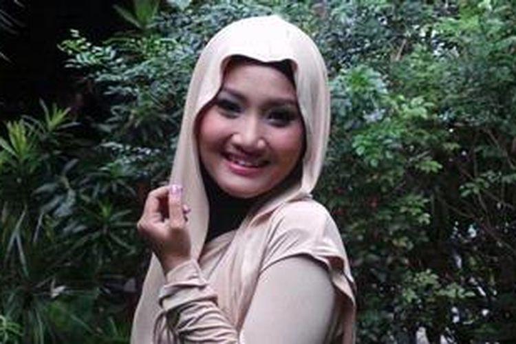 Fatin Shidqia Lubis (16), pemenang ajang pencarian berbakat X Factor Indonesia.