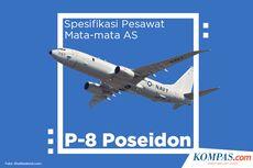 INFOGRAFIK: Spesifikasi Pesawat Mata-mata AS P-8 Poseidon yang Ditolak Masuk Indonesia