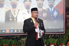HUT Ke-76 TNI, Gubernur Murad Ismail Ingatkan Prajurit TNI Tak Cepat Berpuas Diri