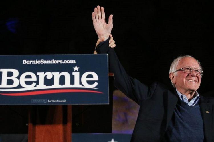 Senator Vermont dan bakal Calon Presiden Partai Demokrat Bernie Sanders