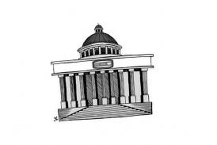 Ilustrasi: Gedung Mahkamah Konstitusi
