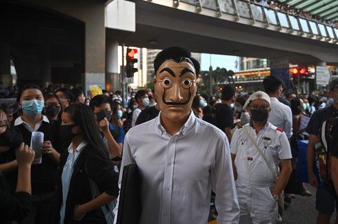 China Dukung Larangan Pakai Penutup Wajah dalam Demonstrasi Hong Kong