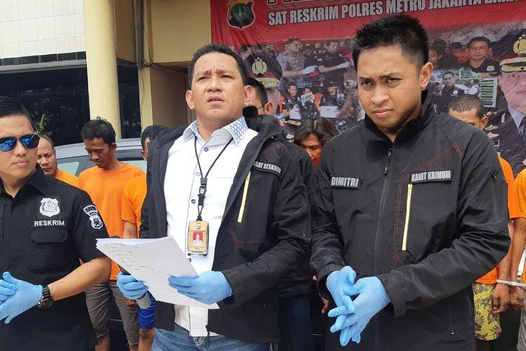Kasatreskrim Polres Jakarta Barat AKBP Edy Sitepu di Polres Jakarta Barat, Senin (28/10/2019)