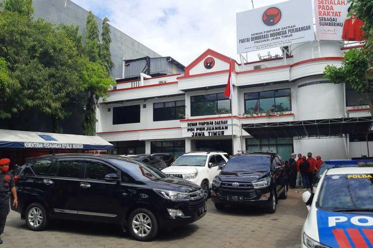 kantor DPD PDI-P Jatim di Surabaya