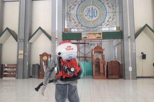 Cegah Corona, 2.500 Titik Fasum Se-Garut Disemprot Disinfektan