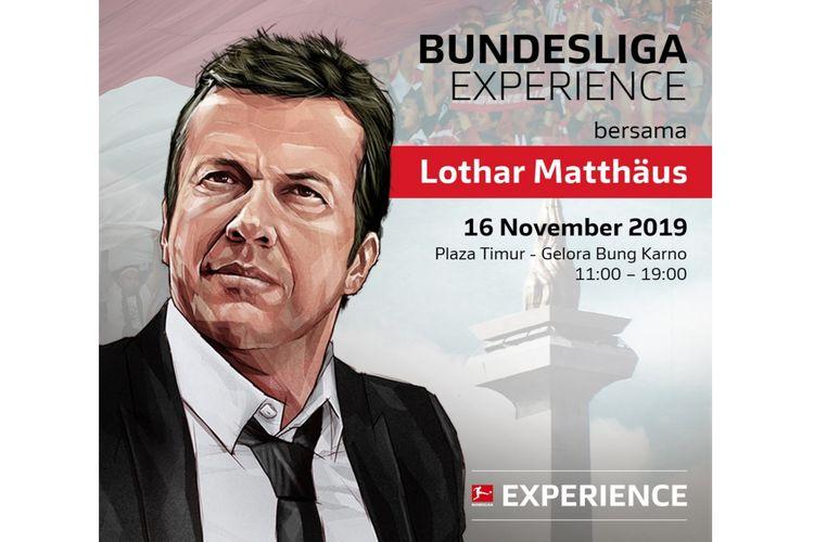 Poster acara Festival Fan Bundesliga di Plaza Timur Gelora Bung Karno, Sabtu (16/11/2019) pukul 11.00-19.00 WIB.