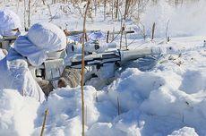 Tingkatkan Kemampuan, Sniper Rusia Latihan di Suhu Minus 35 Derajat Celsius
