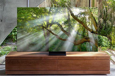 TV QLED 8K Terbaru Samsung Meluncur dengan Layar