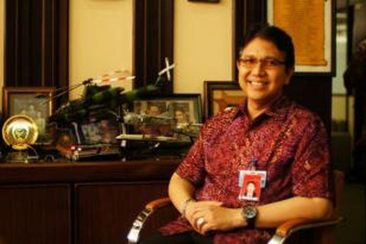 Direktur Komersial dan Restrukturisasi PT Dirgantara Indonesia Budiman Saleh