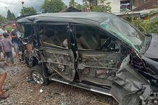 Mobil Karyawan BNI Terseret Kereta di Tasikmalaya, 3 Orang Luka